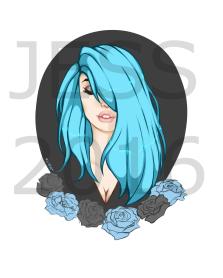 bluehairgirl