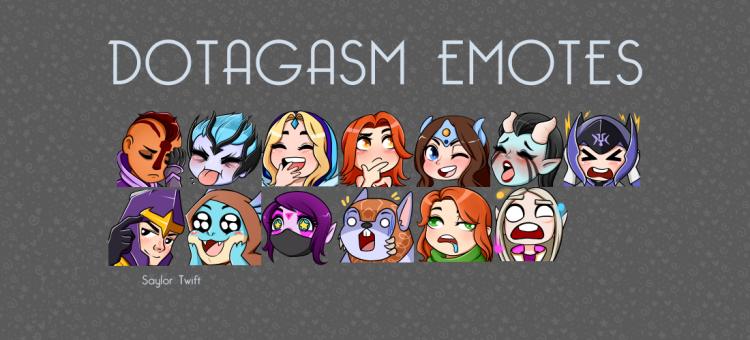 dotagasm emotes