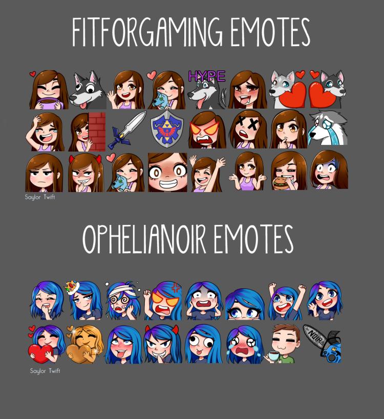 FITFORGAMING emotes
