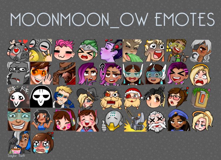 moonmoon emotes